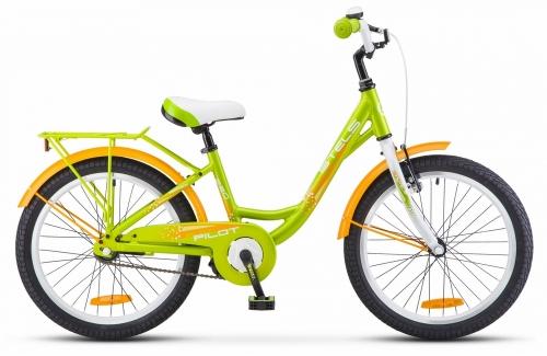 Велосипед Stels Pilot-220 Lady, зеленый, рама 20