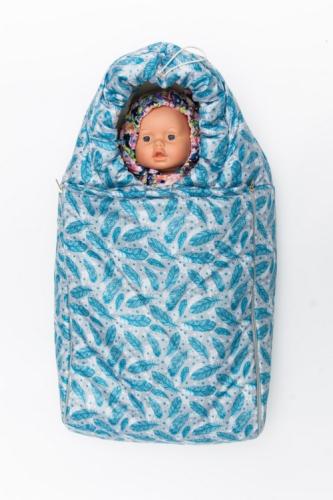 Конверт зимний MODUS Kids для прогулок р. 20 (рост 62-68) голубой, Арт.703015