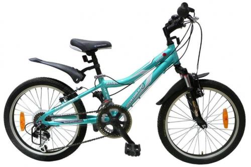 Велосипед Novatrack Action, зеленый, рама 20