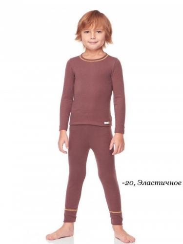 Футболка Comazo детская, арт. 4/08/794, Махагоновый Р-р:116