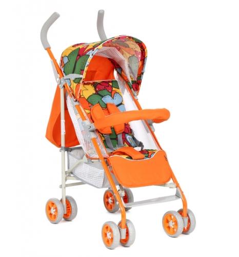 Коляска-трость Glory 1105D Оранжевая