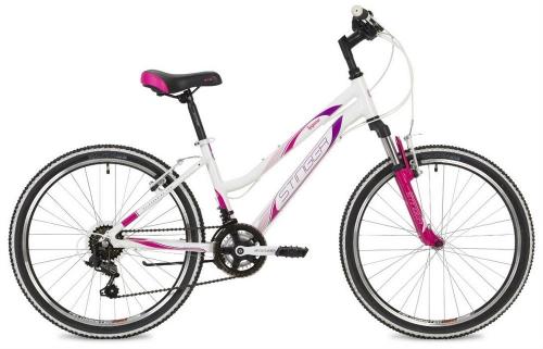 Велосипед Stinger Laguna, белый, рама 24