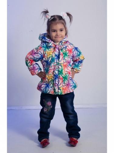 Куртка для девочек, размер 26, весна-осень, желтая Modus L, Каприз