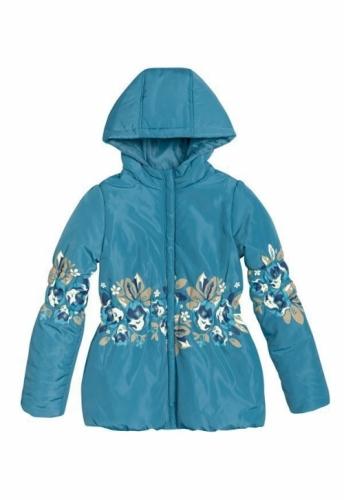 Куртка для девочек, размер 11, весна-осень, синяя Pelican GZWL483