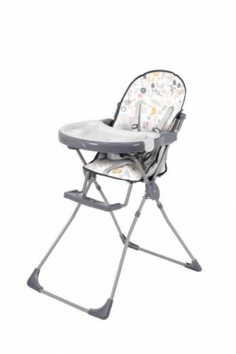 Стульчик для кормления Polini Kids 152 Единорог Hello Baby Серый