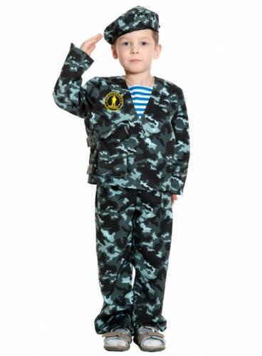 Карнавальный костюм Спецназ-2, 9-10 лет