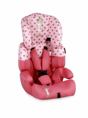 Автокресло Lorelli Junior Plus KDG-123 1/2/3 (1829) / pink girl
