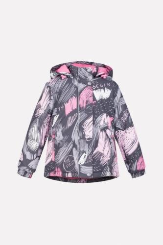 Куртка для девочки Crockid ВК 38033/н/1 ГР размер 104-110