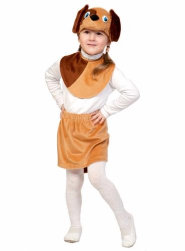 Карнавальный костюм Собачка Лайт (юбка, маска, манишка) 3-5 лет