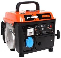 Генератор бензиновый Patriot GP- 910 650/800 Вт ручной запуск