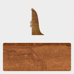 Заглушка торцевая левая (блистер 4 шт.) Т-пласт 078 Ятоба
