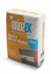 Штукатурка Brozex ШС-32 Фасад 25 кг