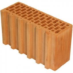 Керамический доборный блок Kerakam 38+ 129х380х219 с пазом и гребнем