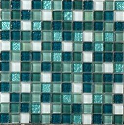 Мозаика Bonаparte Andaman синяя глянцевая 30x30