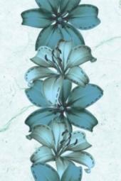 Декор Нефрит-керамика Агидель 04-01-1-06-03-71-098-2 30x20 Голубой
