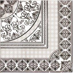 Панно Lasselsberger Астерия белый 90x90