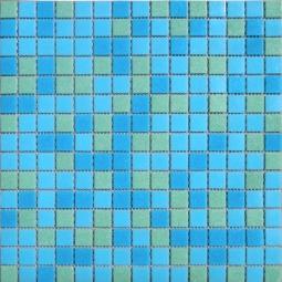 Мозаика Elada Econom на сетке MCD003 сине-зеленый 32.7x32.7