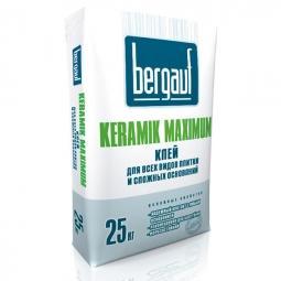 Клей Bergauf Keramik Maximum для всех видов плитки и сложных оснований 25 кг