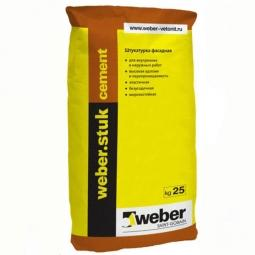 Штукатурка  Weber.Vetonit Cement фасадная 25 кг