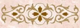 Бордюр Нефрит-керамика Грато 05-01-1-93-03-41-421-0 25x9 Розовый
