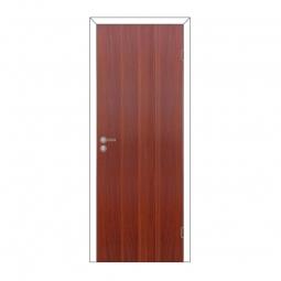 Дверное полотно Olovi глухое итальянский орех 800х2000 с замком 2014
