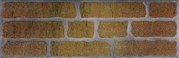 Плитка для стен Сокол Кремль KS-2-3 оранжевая полуматовая 12х36.5