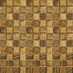 Мозаика Elada Crystal JSM-JB0273 золотая жатая 32.7x32.7