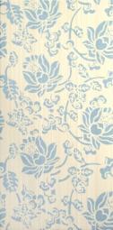 Декор Lasselsberger Белла голубой 19,8х39,8
