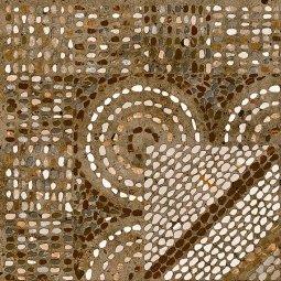 Керамогранит Lasselsberger Гарден глазурованный орнамент коричневый 30х30