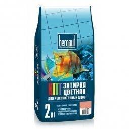 Затирка Bergauf Kitt на цементной основе для швов до 5 мм голубая (2кг)