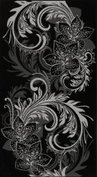 Декор Lasselsberger Азур графит 25х45