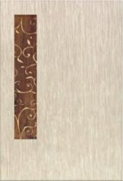 Декор Керамин Сакура 1 Бежевый 40x27,5