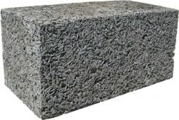 Блок арболитовый 200х200х400 мм D600