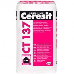 Штукатурка Ceresit СТ137 декоративная минеральная камешковая 2,5 мм