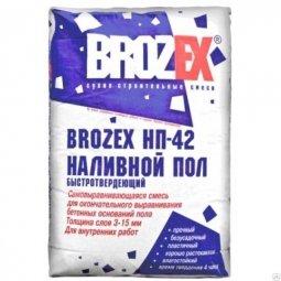 Ровнитель Brozex НП-42 финишный 20кг