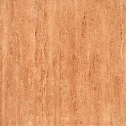Плитка для пола Береза-керамика Травертино глянец коричневый 42х42