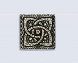 Декор Орнамент Универсальные вставки для пола Персей Platinum 1 6.7x6.7