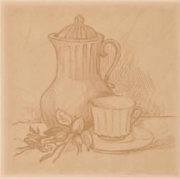 Декор Atem Imola  tea B 10x10