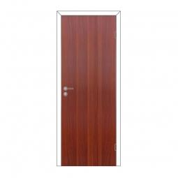 Дверное полотно Olovi глухое итальянский орех 600х2000 с замком 2014