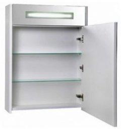 Шкаф-зеркало Аква Родос Милано 65 с подсветкой