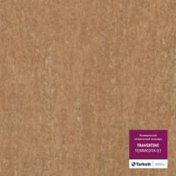 Линолеум коммерческий гетерогенный Tarkett Travertine Terracotta 1 3 м