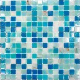 Мозаика Bonаparte Ocean голубая глянцевая32.7х32.7