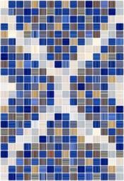 Плитка для стен Керамин Гламур 2 тип 1 Синий 40x27,5