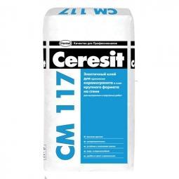 Клей Ceresit СМ117 универсальный для наружных и внутренних работ 25 кг