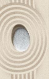Декор Golden Tile Summer Stone Wave B41431 Серый 250х400