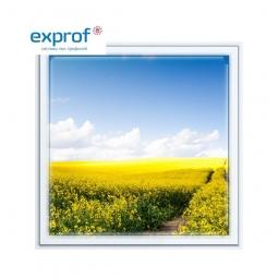 Окно ПВХ Exprof 600х600 мм одностворчатое Г 1 стеклопакет