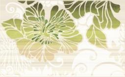 Декор Нефрит-керамика Кензо 04-01-1-09-03-85-075-2 40x25 Зелёный