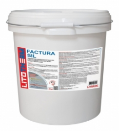 Штукатурка Litokol Litotherm Factura Sil Шуба декоративная акриловая 2,5 мм Белая