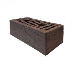 Кирпич лицевой керамический «Шоколад» «Риф» пустотелый утолщенный