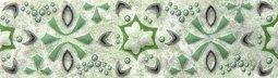Бордюр Шаxтинская Плитка Кодры Зеленый 03 20x5.7